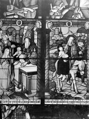 Cathédrale Saint-Etienne - Vitrail, 7e baie : Circoncision, Fuite en Egypte