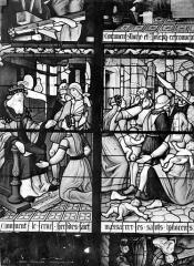 Cathédrale Saint-Etienne - Vitrail, 7e baie : Massacre des Innocents
