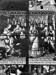 Cathédrale Saint-Etienne - Vitrail, 7e baie : Jésus et les docteurs