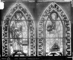 Cathédrale Saint-Etienne - Vitrail : fenêtre A du choeur