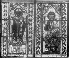 Cathédrale Saint-Etienne - Vitrail : fenêtre B du choeur