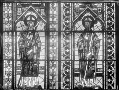 Cathédrale Saint-Etienne - Vitrail : fenêtre C du choeur
