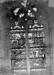 Eglise Saint-Alpin - Vitrail : sainte Madeleine