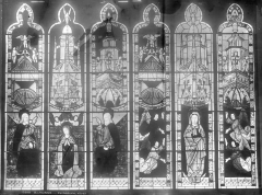 Cathédrale Notre-Dame - Vitrail : Assomption et Couronnement de la Vierge