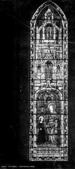 Cathédrale Saint-Julien - Vitrail : sainte Anne et la Vierge