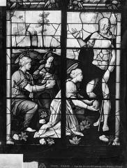 Eglise Saint-Etienne-du-Mont - Vitrail : Vie du Christ