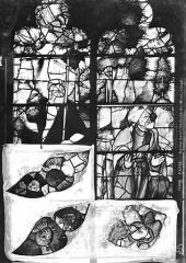 Eglise Saint-Etienne-du-Mont - Vitrail, baie B : vie du Christ