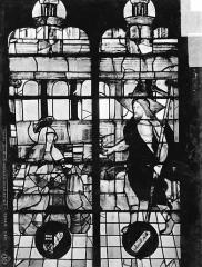 Eglise Saint-Etienne-du-Mont - Vitrail, baie C : vie du Christ