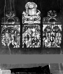 Eglise Notre-Dame-de-la-Pitié - Vitrail : sujet légendaire
