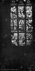 Eglise Saint-Godard - Vitrail : Vie de la Vierge
