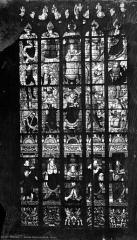 Eglise Saint-Godard - Vitrail : Arbre de Jessé