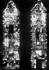 Cathédrale Saint-Etienne - Vitrail, saint, Crucifixion