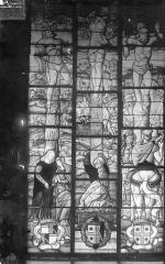 Eglise Saint-Pierre - Vitrail : Scènes de la Passion