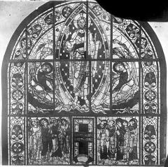 Cathédrale Saint-Pierre - Vitrail, baie B : Ascension