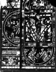 Cathédrale Saint-Pierre - Vitrail, fenêtre B, figure