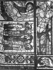 Cathédrale Saint-Pierre - Vitrail, baie B