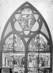 Eglise Saint-Pierre - Vitrail de saint Julien
