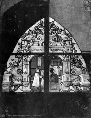 Eglise Saint-Pierre - Vitrail de sainte Geneviève