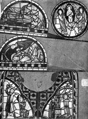 Eglise Saint-Pierre - Vitrail : sainte Marguerite