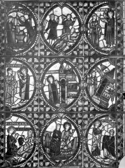 Eglise Saint-Pierre - Vitrail de saint Jean