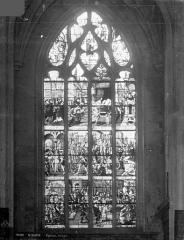 Eglise Saint-Gervais-Saint-Protais - Vitrail suisse