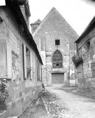 Ancienne église Saint-Laurent - Façade ouest