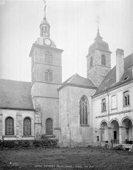 Ancienne abbaye - Façade sud et cloître