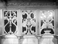 Eglise Notre-Dame - Clôture du chœur : panneau