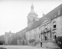 Ancienne abbaye Saint-Colomban - Ensemble nord-ouest
