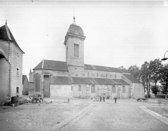 Eglise Saint-Hilaire - Ensemble nord