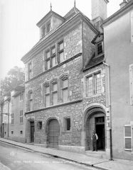 Maison du 15e siècle, dite Hôtel Thomassin - Façade sur rue