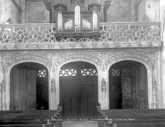 Eglise Saint-Martin - Tribune du buffet d'orgue