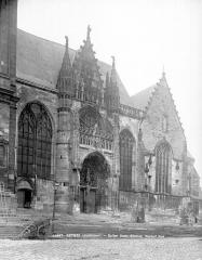 Eglise Saint-Nicolas - Façade sud : portail