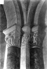 Eglise Saint-Aignant-de-Torsac - Chapiteaux