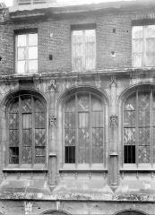 Ensemble archiépiscopal - Façade : fenêtres
