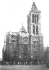 Basilique Saint-Denis - Façade ouest
