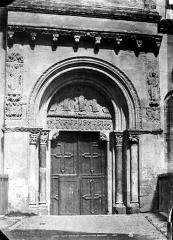 Eglise Saint-Sernin - Porte Miègeville (façade sud)
