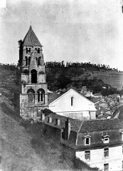Ancienne abbaye - Eglise : Clocher
