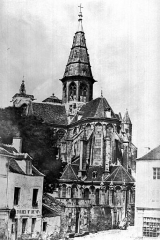 Eglise (collégiale) Notre-Dame - Abside et clocher