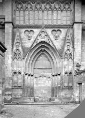Cathédrale Saint-Gatien - Portail du transept nord