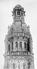 Cathédrale Saint-Gatien - Clocher nord : partie supérieure