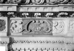 Cathédrale Saint-Gatien - Couronnement d'un clocher : frise