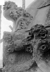 Cathédrale Saint-Gatien - Couronnement d'un clocher : crochet