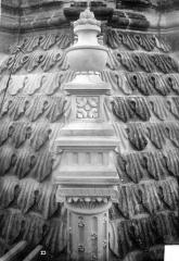Cathédrale Saint-Gatien - Couronnement d'un clocher : pinacle