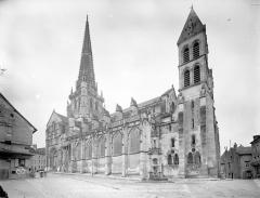 Cathédrale Saint-Lazare - Ensemble nord