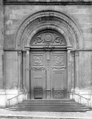 Cathédrale Saint-Lazare - Portail de la façade nord