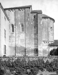 Château des Moines de Cluny - Chapelle : abside, côté sud