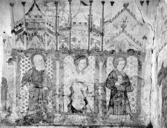 Cimetière - Peintures murales