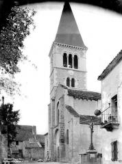 Eglise Saint-Martin - Clocher, côté sud-ouest