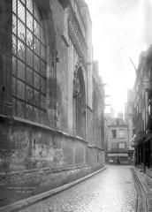Ancienne église Notre-Dame-de-Froide-Rue ou église Saint-Sauveur - Façade sur rue